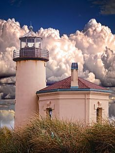 Coquille River Lighthouse Bandon, Oregon