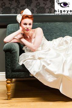 rock chic, bride photo, roll bride