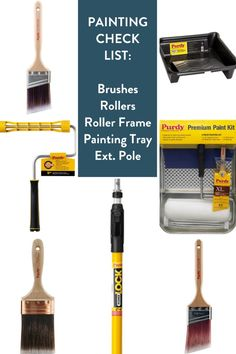 Painting tools check