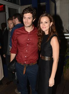 Ode To Leighton Meester And Adam Brody, The Newly Engaged Dream Couple (via BuzzFeed)
