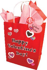 Great gift bag idea using Valentine Hearts Stickers from CTP. Cute gift bag for anyone!