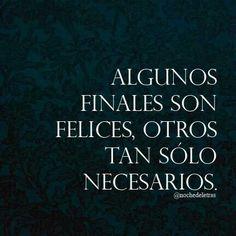 Finales...