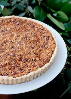 Oatmeal Pecan Tart (gluten-free)