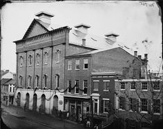 With his death, Lincoln became the first American president to be assassinated. Ford's Theater was draped in black crepe to symbolize the country's mourning, and the building was later purchased by the federal government.