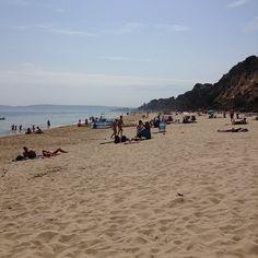 Canford Cliffs beach.