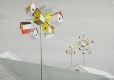 Housing Development (c.1954) | Illustrator: Viktor Schreckengost