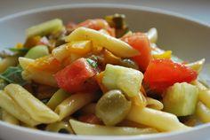 Insalata di pasta alle verdure, ricetta estiva