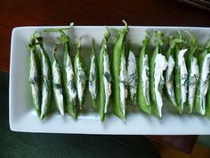 Spring Pea Appetizers by emilystyle