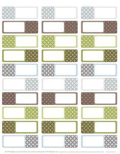 Designer Address Labels: download free address label templates designed by Inktreepress.com