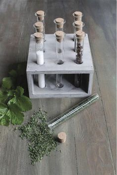 Scientist's Herb/Spice Holder