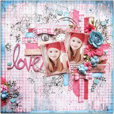 """Di's Creative Space: My Scraps of Darkness Kit ClubDT Reveal Part Two""""Love"""""""