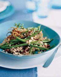 Farro and Green Bean Salad - Fantastic Farro, Couscous and Quinoa Recipes