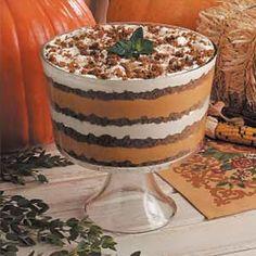 Pumpkin Trifle Recipes