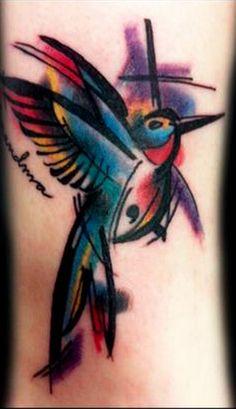 i love hummingbird tattoos