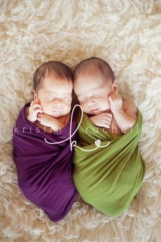 san diego twin newborn photographer | Nyah and Anj