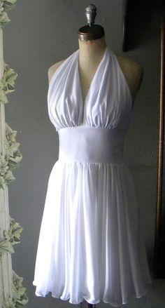 Marilyn Monroe THE DRESS