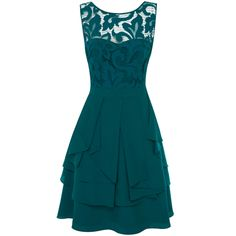 Ted baker miyaa feather applique motif dress wedding guest dresses