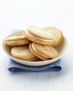 Lemon Sandwich Cookies Recipe