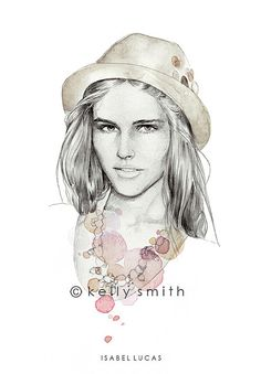 Isabel Lucas, By Kelly Smith