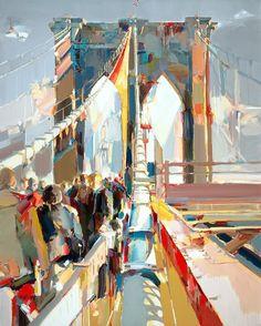 "Josef Kote (Albanian, born 1964) ""Brooklyn Bridge"""