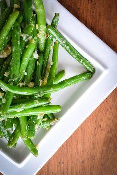 ginger garlic green beans