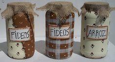 jars como decorar, decorar frasco, adornar frasco, jar, decorar tu, frasco de, craft idea, idea para, diy