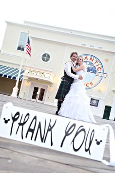 Mickey Fairy Tale Wedding Sign. And they by OurHobbyToYourHome