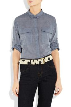 Marc by Marc Jacobs dotty snake-effect belt. I find it so hard to find belts I like. Once in a blue moon stuff. But this, I love.