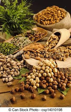 Walnuts and pistachios can reduce Cholesterol by 10%.  And the fats in nuts can replace  consumption of other high cholesterol fats.     www.dalia.mynutrie.com