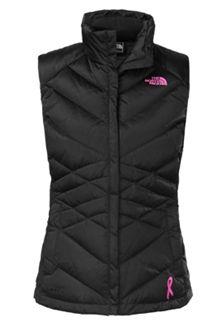 Breast Cancer Awareness Northface Vest