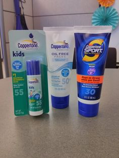 GIVEAWAY: Coppertone Oil Free Faces does not clog pores and is perfect for Daily Use - ENDS 9/13/2013