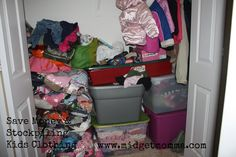 how to save money and stockpile kids clothing