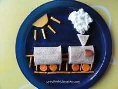 Train Lunch from creativekidsnacks.com