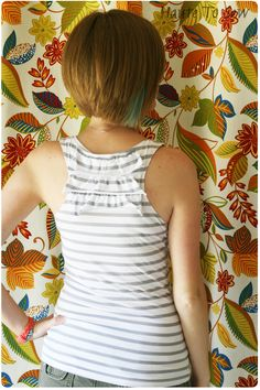 Haute To Sew: Sewing. Love this shirt diy
