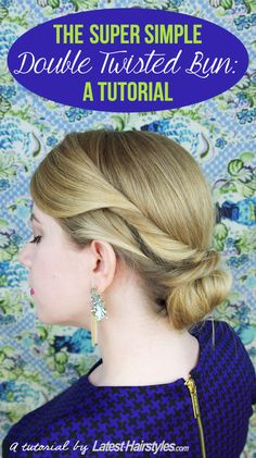 10 Beautiful DIY Hairstyles to Wear to a Wedding - #bun #hair