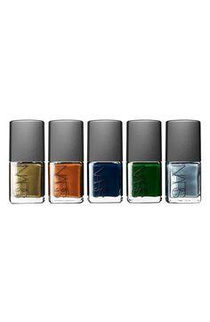 Nars Vintage Colors nail polishes