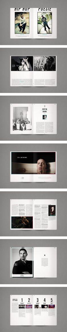 DEAF MAGAZINE by MORPHORIA DESIGN COLLECTIVE, via Behance