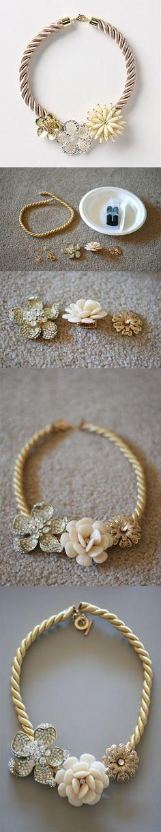 diy necklace jewelry