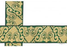 50 mm Indian Saree Borders - Jacquard lace # 002975  Rich Golden work , with unique designs on green color saree border for traditional Indian Saree Design.   This design is made by use of golden and green. Such saree border designs are used for religious functions.  For more designs visit www.lacxo.com more then 250 variety of laces, tapes, trims, ribbons, webbing and such fashion accessories. You can even mail us at info@lacxo.com for your custom saree border requirement.