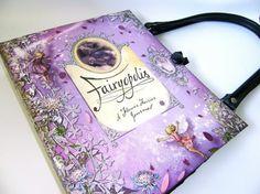 altered book purse