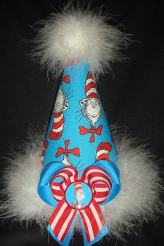 Cat in the Hat party hat