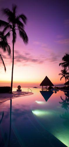 Grand Velas Riviera Nayarit Hotel & Resort Pool...Mexico