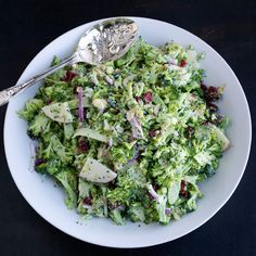 Shaved Broccoli Salad