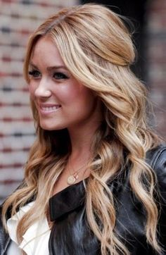 Lauren Conrad Hairstyles: Trendy Half-up Half-down