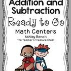 This packet contains over 20 low prep addition and subtraction math centers. *Addition Sliders *Subtraction Sliders *(3) Addition Work Mats (Addition to 18, Doubles and Near Doubles) *(4) Lightning Math Addition Facts (addition to 20) *(2) Lightning Subtraction *(5) Addition/Subtraction Word Problems Work Mats *(4) Number Line Addition Work Mats *(2) Number Line Subtraction Work Mats * Fast Math Facts Assessment *3 Addends Addition Task Cards *Addition Task Cards (Facts to 20) *Addition ...