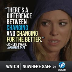 Watch the premiere of Nowhere Safe October 5th at 7pm ET on UP!