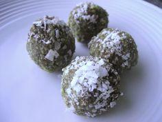 Primal cocoa coconut date balls