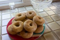Crafts, Cakes, and Cats: Baked Apple Cider Donuts