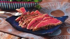 Lovin' Lime & Coriander Seared Tuna Steak    For more peri-licious recipe ideas and where to find our products visit www.nandosathome.com.au