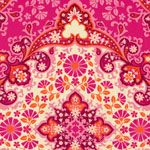 Joel Dewberry Notting Hill Kaleidoscope Magenta - VOILE [FS-VOJD005-Magenta] - $15.95 : Pink Chalk Fabrics is your online source for modern quilting cottons and sewing patterns., Cloth, Pattern + Tool for Modern Sewists